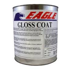 Eagle 1 Gal Gloss Coat Clear Wet Look Solvent Based Acrylic