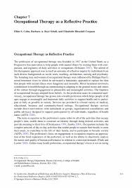 occupational therapy as a reflective practice springer inside