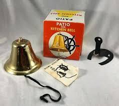 vintage patio kitchen dinner bell