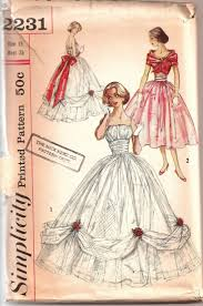 Ball Gown Dress Pattern