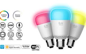 iLuv 'Rainbow8' multi-color smart home bulbs available now, first ...