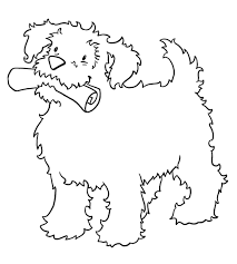 Small Picture Coloring Pages Kids Dingo Puppy Coloring Page Puppy Colouring