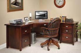oak desks for home office. Gallery Of Elegant Corner Desk Home Office Solid Oak Desks For Perfect Extraordinay 8 F