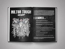 milton tough barstool coffee table book layout design procreate app ipad pro drawing
