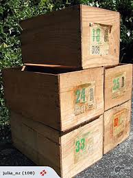 assorted large fruit boxes