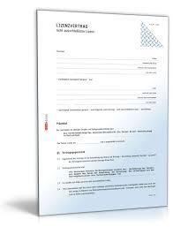 Lizenzvertrag Zur Nutzung Software Entwicklungs_ Und