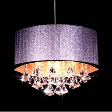 modern oval brushed fabric lampshade k9 crystal chandelier living room lamps led re dining table lights