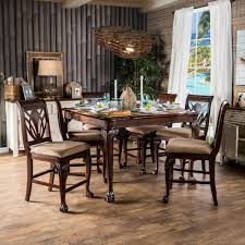 counter height dining room sets inspirational fairbanks 7 piece counter height pub set s beautiful