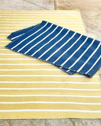 at horchow horchow pinstripe indoor outdoor runner 2 x