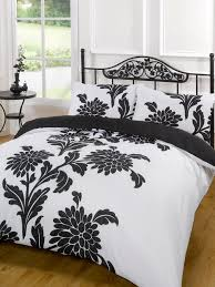 stunning black white quilt covers 72 about remodel cool duvet ideas of black and white sequins queen king size