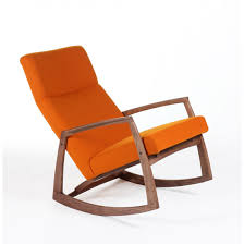 Rocking Chair Modern midcentury modern iomar rocking chair orange 2942 by guidejewelry.us