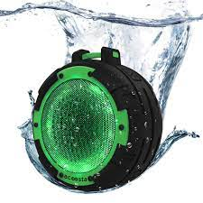 ACOOSTA BOLD 820, IPX8 100% Waterproof, Portable Wireless Bluetooth Speaker  (5 watt) with Loud Bass, 4 Colorful LED Light Modes, Shockproof & Dustproof  with Built in Mic, Aux & Upto 6 hrs