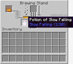Minecraft Pe Potions Chart How To Make A Potion Of Slow Falling 1 30 In Minecraft