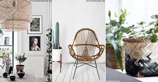 furniture trend. interiors trend bamboo furniture