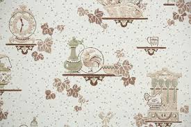 Perfect Kitchen Wallpaper Texture Vintage Throughout Decorating Ideas