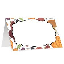 Fall Place Cards Amazon Com Fall Place Cards 50 Pack Pumpkin Halloween