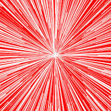 Radial Red Abstract Vector Background For Comic Book Red Radial Lines