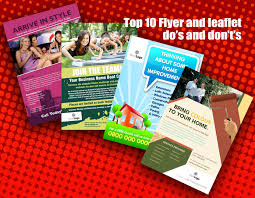 Advertising Flyers Samples Top 10 Flyer Design Dos And Donts Flyerzone