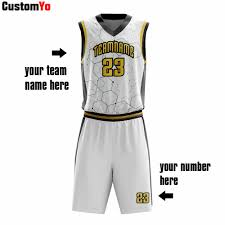 Design Your Own Club Design Your Own Logo Cheap Heat Printing Club Basketball Wear Outfit
