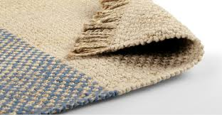 naturally unique its jute wool blend makes this rug