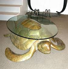 wyland coffee table turtle coffee table turtle coffee table in gilt bronze with top surface in