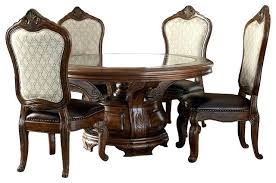 round dining table chairs 6 piece dining table set melange 6 piece round dining table set