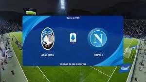 PES 2021 | Atalanta vs Napoli - Coppa Italia | 10/02/2021
