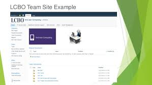 Sharepoint Website Example Sharepoint 2010 Team Site Overview