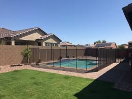 main types of swimming pool fencing edit