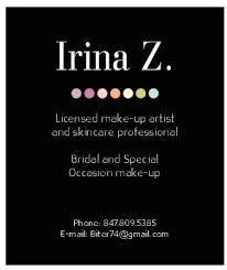 makeup business cards designs chicago business card design page 4