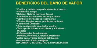 Centro Naturista Medicina Natural Beneficios Del Bano De Vapor