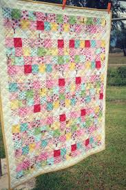 postage stamp baby quilt tutorial the Aunties could sign up for ... & postage stamp baby quilt tutorial the Aunties could sign up for