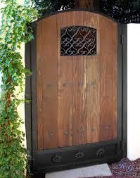 wood u0026 iron gates iron gates with wood57