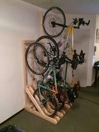 brilliant garage bike rack idea design storage also diy nz canadian tire bunning ceiling lowe uk