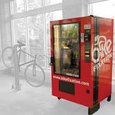 Vending Machines Sizes Magnificent High Security Full Size Vending Machine Bike Fixation