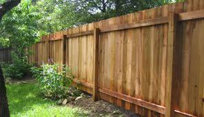 cedar privacy fence 2 rail