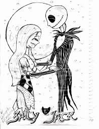 Small Picture Free Nightmare Before Christmas Coloring Pages Printable