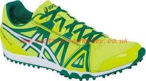 Men Asics Track Spike Shoe Shoe Yellow Black Flash Carbon