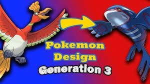 Gamasutra: Caleb Compton's Blog - Evolution Of Pokemon Designs – Generation  3