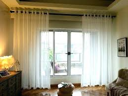curtains on sliding glass doors over door vertical blinds large size of french for