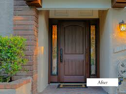 single front doorsFront Entry Doors With Sidelites Remodeling  Craftsman Front