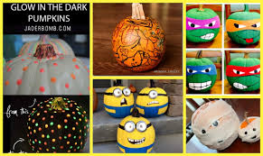 make your pumpkins glow in the dark with this tutorial