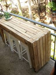 patio furniture for small balconies. Ecocentric: Custom Balcony Table Made Of Pallets Patio Furniture For Small Balconies A