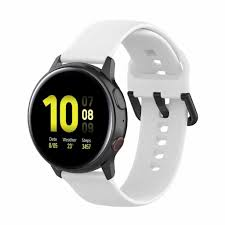 Review dây đeo silicone cho đồng hồ thông minh samsung galaxy watch active  2 40mm 44mm active 40mm/gear s2