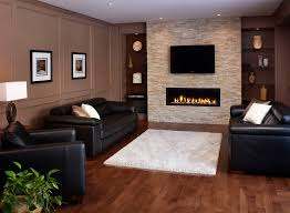 architecture fireplace makeover with stone surround and