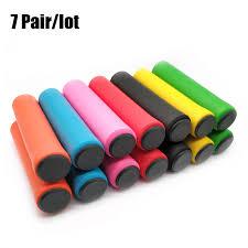 Handlebar Grips, Tape & Pads <b>1Pair Soft Foam Silicone</b> Sponge ...