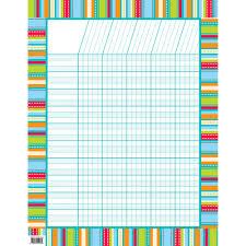 Stripes Stitches Incentive Chart