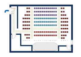 Fashion Show Seating Chart Template Seating Plan Floor Plan Solutions