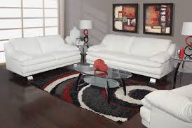 White Leather Living Room Kanes Furniture Living Room Collections