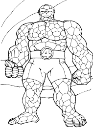 Small Picture Marvel coloring pages group fantastic four ColoringStar